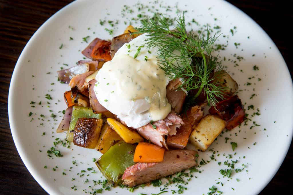 Alderwood Smoked Salmon Hash