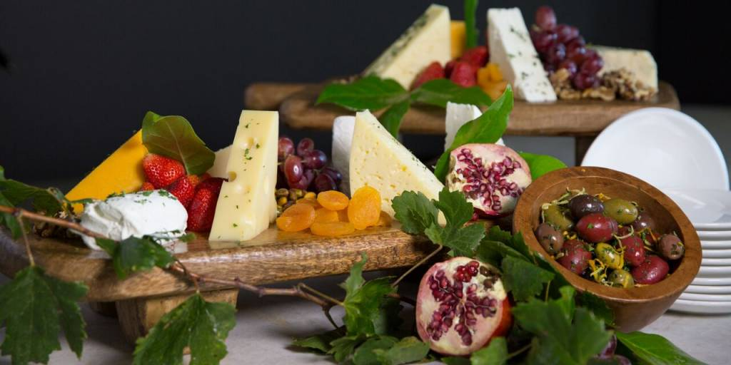 Assorted Cheese Presentation