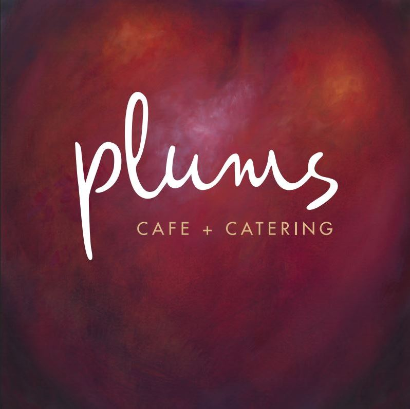 Plums Cafe and Catering Logo