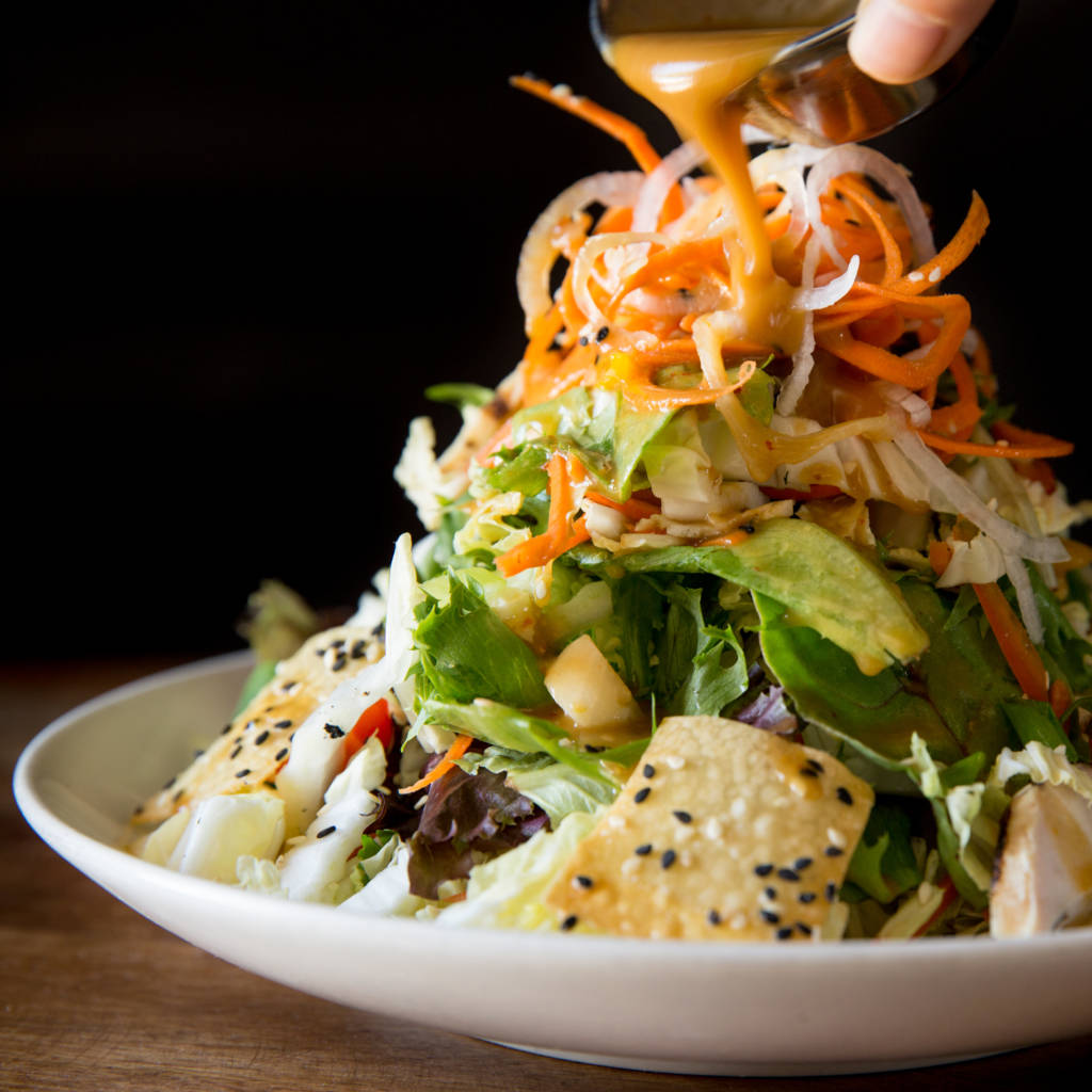 Sasaki Asian Chicken Salad with Ginger Dressing